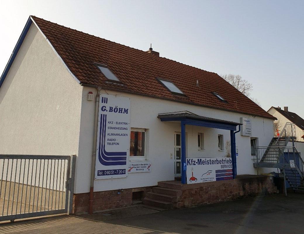 Firmengebäude Böhm Fahrzeugtechnik