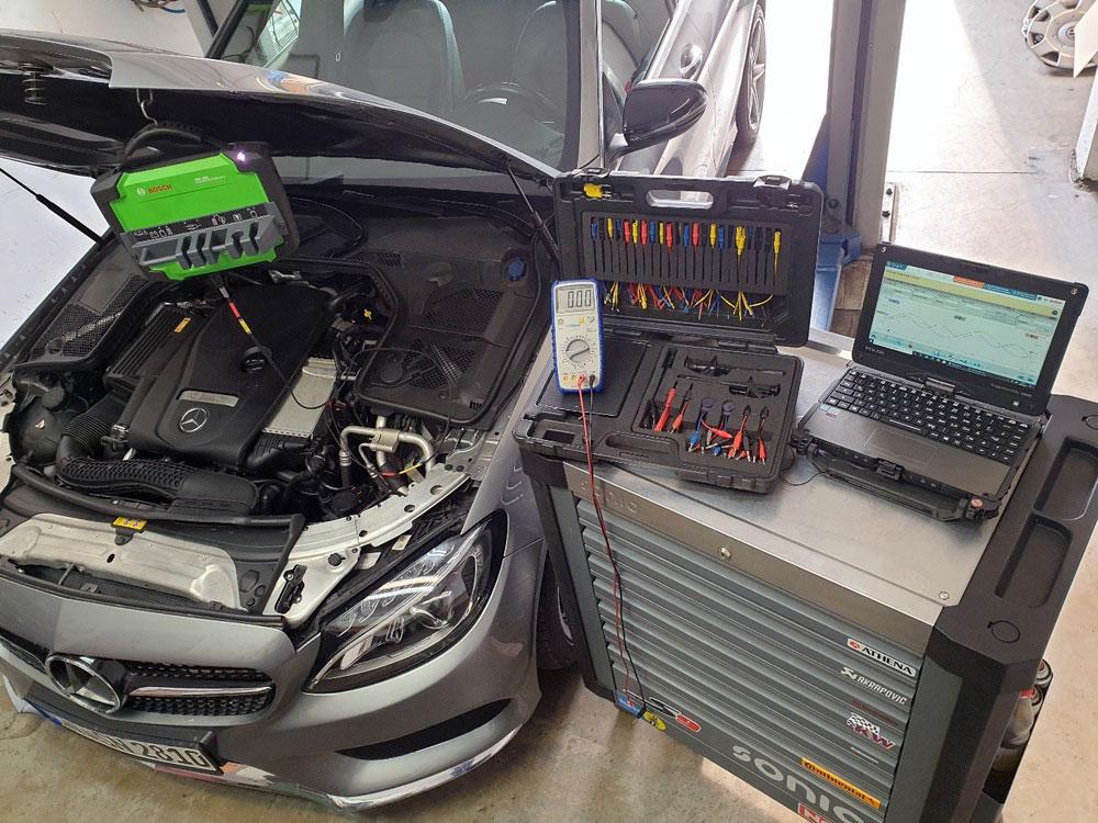 Werkstatt Fahrzeugdiagnose